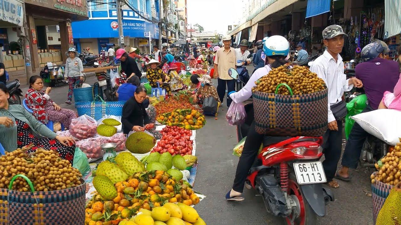 Chợ Sa Đéc (Đồng Tháp) – Chợ trái cây lớn nhất và rẻ nhất Miền Tây | Sa Dec fruit market
