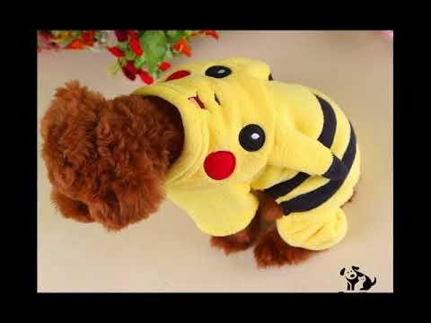 Quần áo pikachu cho chó mèo – PS38