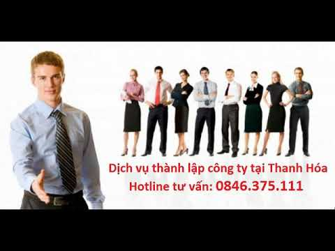 Thành lập doanh nghiệp tại Thanh Hóa