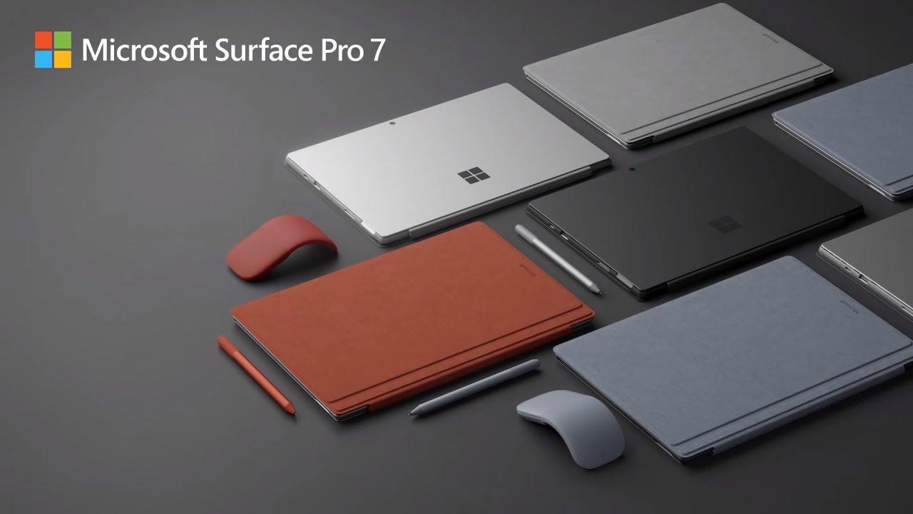 Microsoft Surface Pro 7 – ơn giời USB – C đây rồi !!!