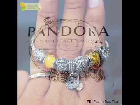 Vòng Pandora cực sang chảnh và lung linh – Xưởng Bạc