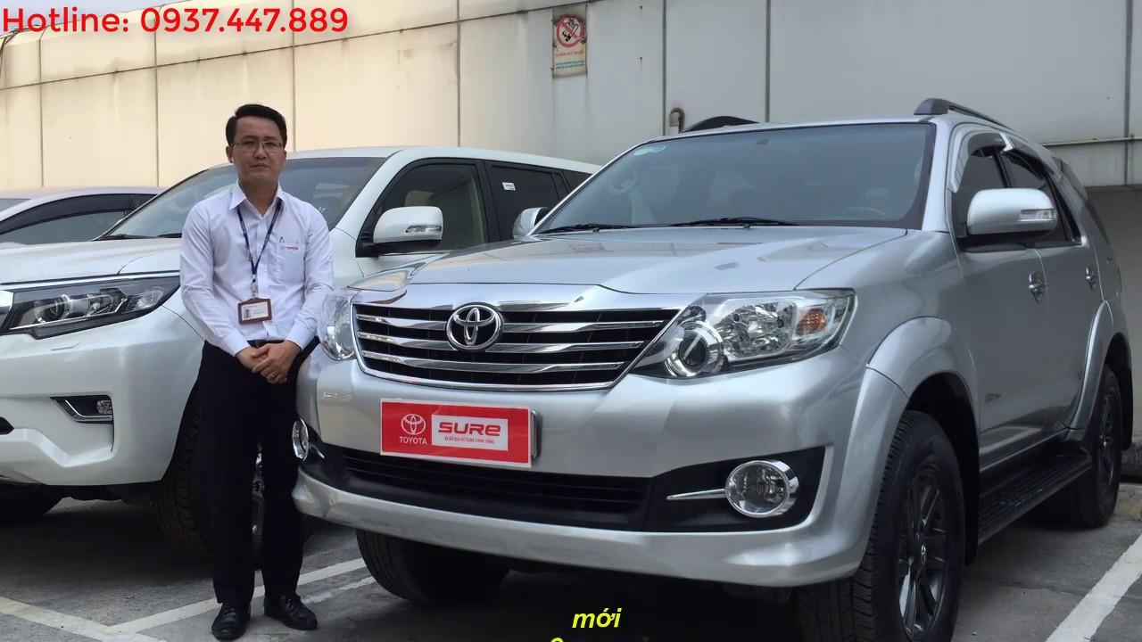 Bán xe Toyota Fortuner 2015 cũ 2.7V máy xăng số tự đông 1 cầu giá rẻ [Đã bán]