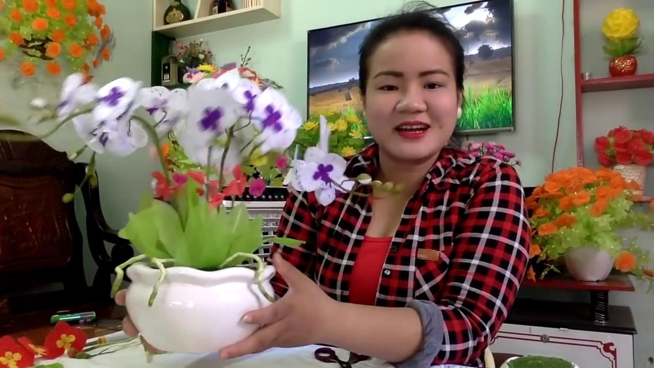 Cách làm hoa LAN HỒ ĐIỆP(Long Hải, BRVT, 090.7519890)