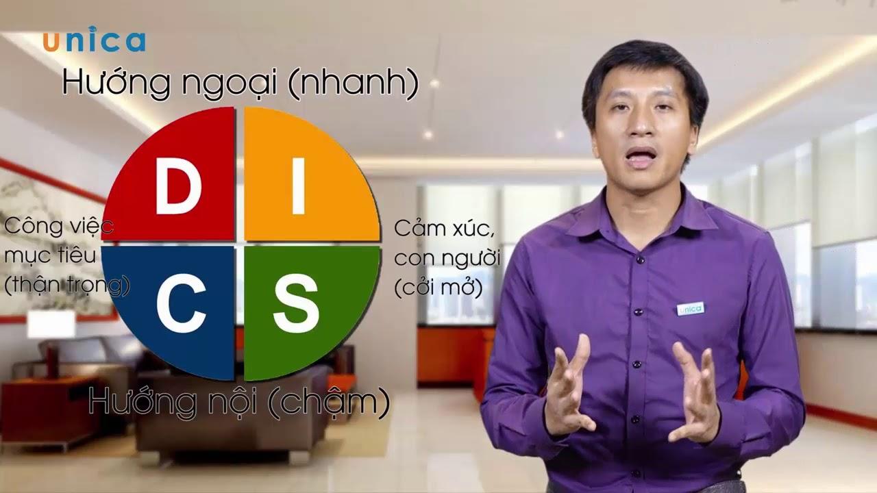 Nguyên tắc nhận diện nhóm tính cách DISC || Lê Minh Tuấn.