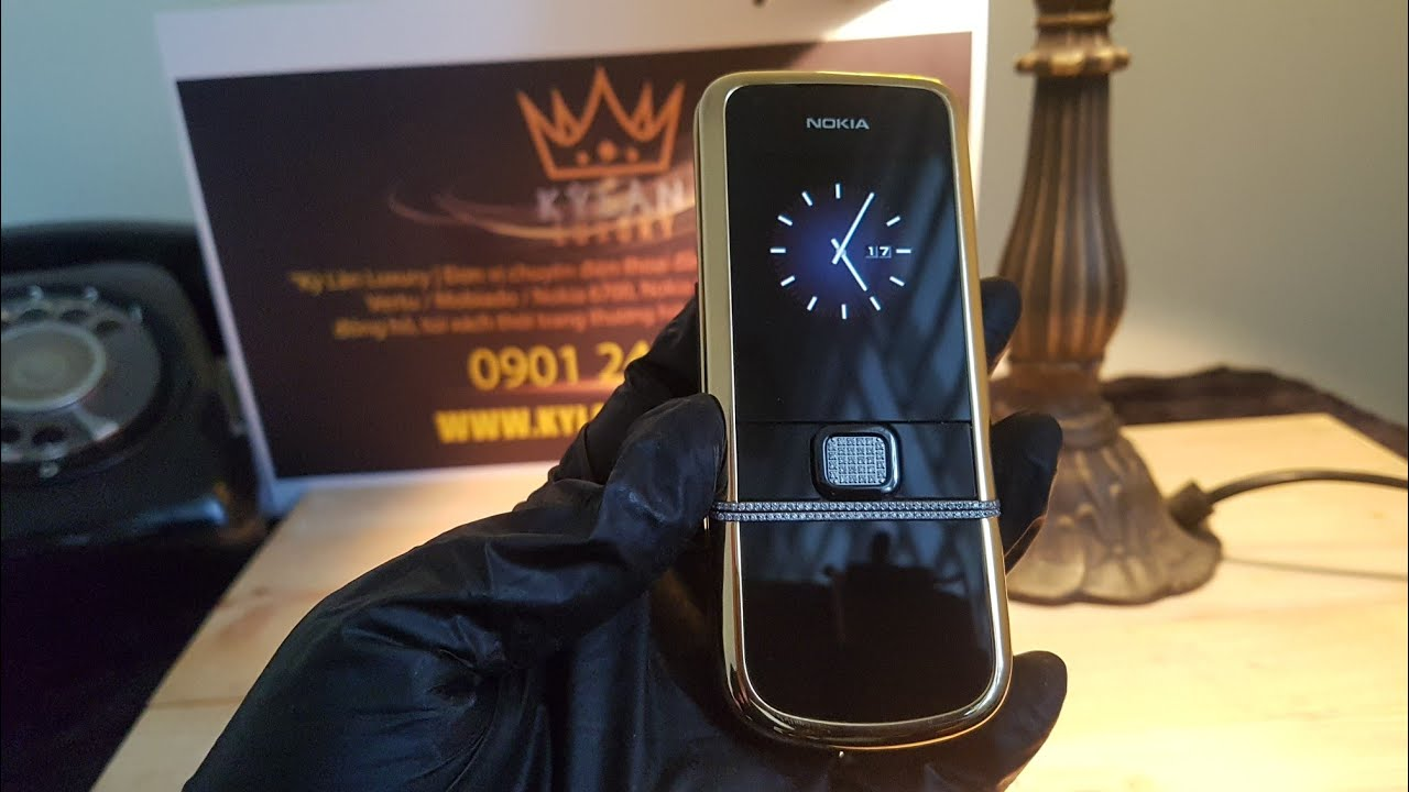Nokia 8800 Diamond gold arte mạ vàng 24k siêu hiếm
