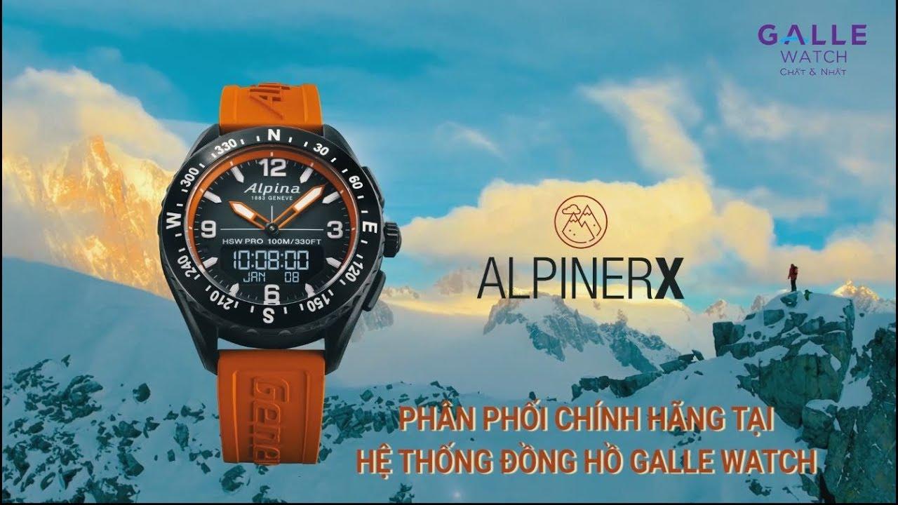 [ALPINA] AlpinerX 2019 – Bộ sưu tập đồng hồ thể thao mới nhất – Cỗ máy sinh ra để sống ngoài trời
