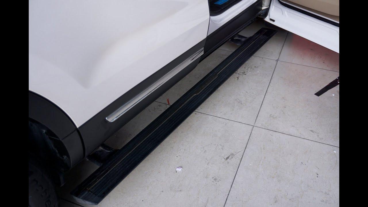 Bệ bước điện xe Ford Explorer 2017 Hàng chính hãng