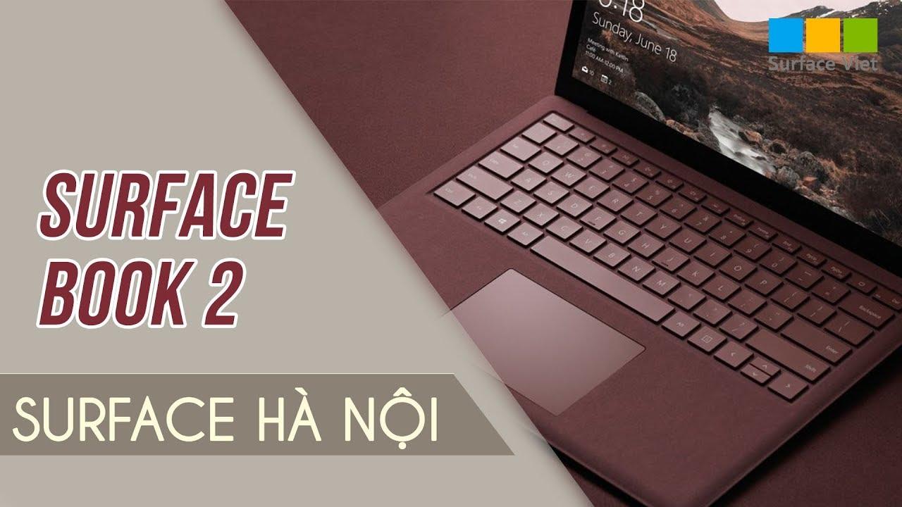 Surface book 2 15 inch  – Laptop dành cho dân đồ họa
