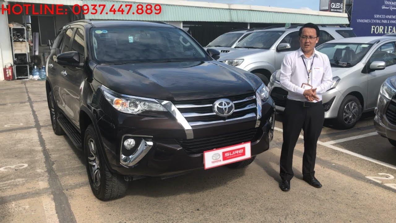 Bán xe Toyota Fortuner V 2018 cũ số tự động giá rẻ nhất thị trường [Đã bán]