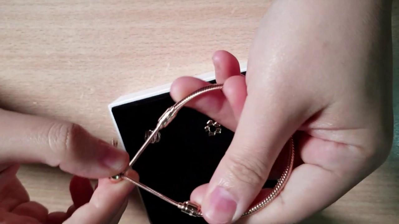 Cách mở vòng trượt Pandora – how to open Pandora sliding bangle
