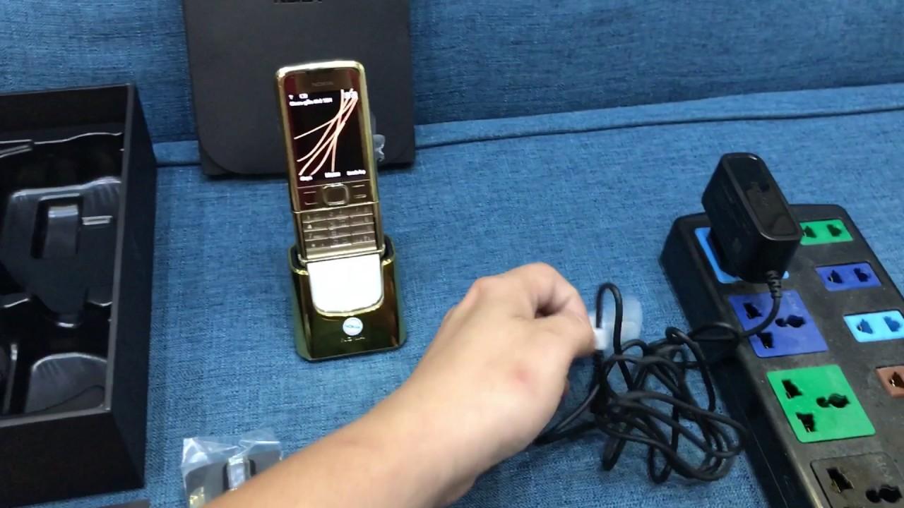 Nokia 8800a Gold Arte Chính Hãng Full Box – trummayco.vn