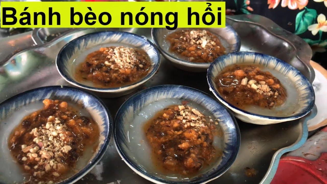 Bánh bèo nóng ngon khách muốn ăn phải chờ nửa tiếng I Đói ăn gì?