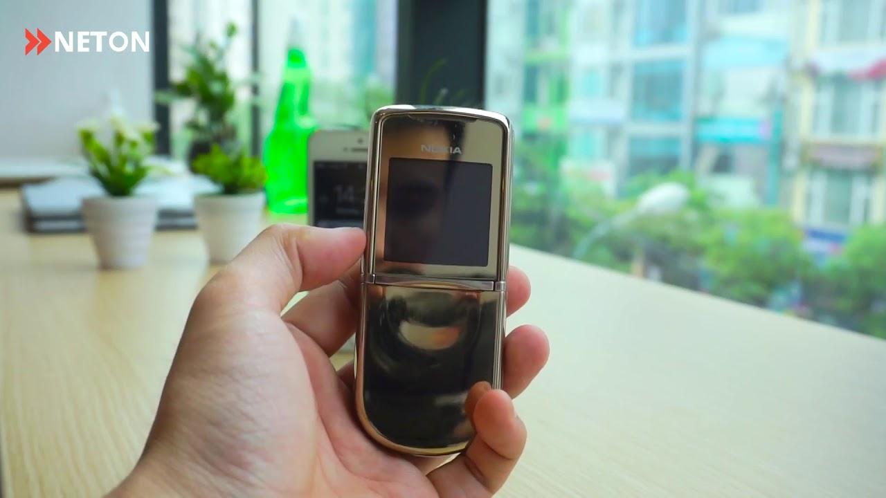 """Nokia 8800 Sirocco – Chiếc điện thoại """"đập đá"""" đẳng cấp"""