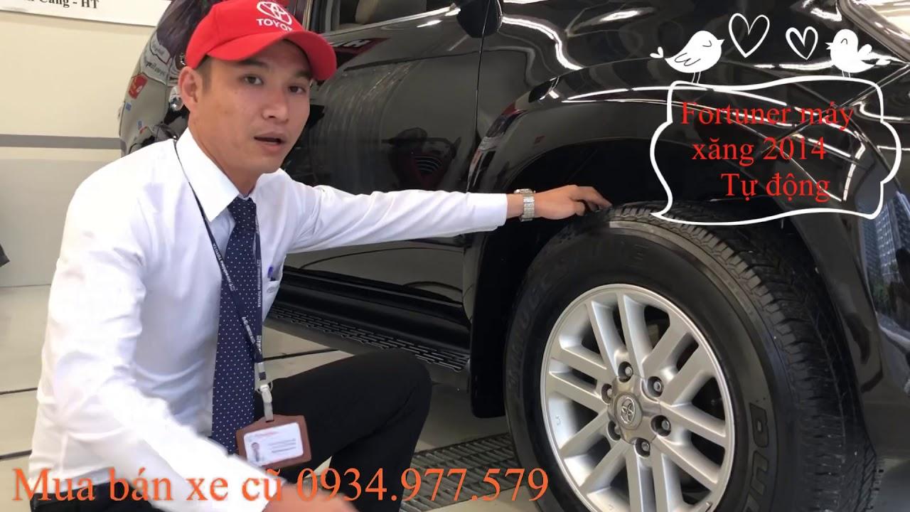 Giá Xe Toyota Fortuner AT 2014 – Mua bán xe cũ giá tốt