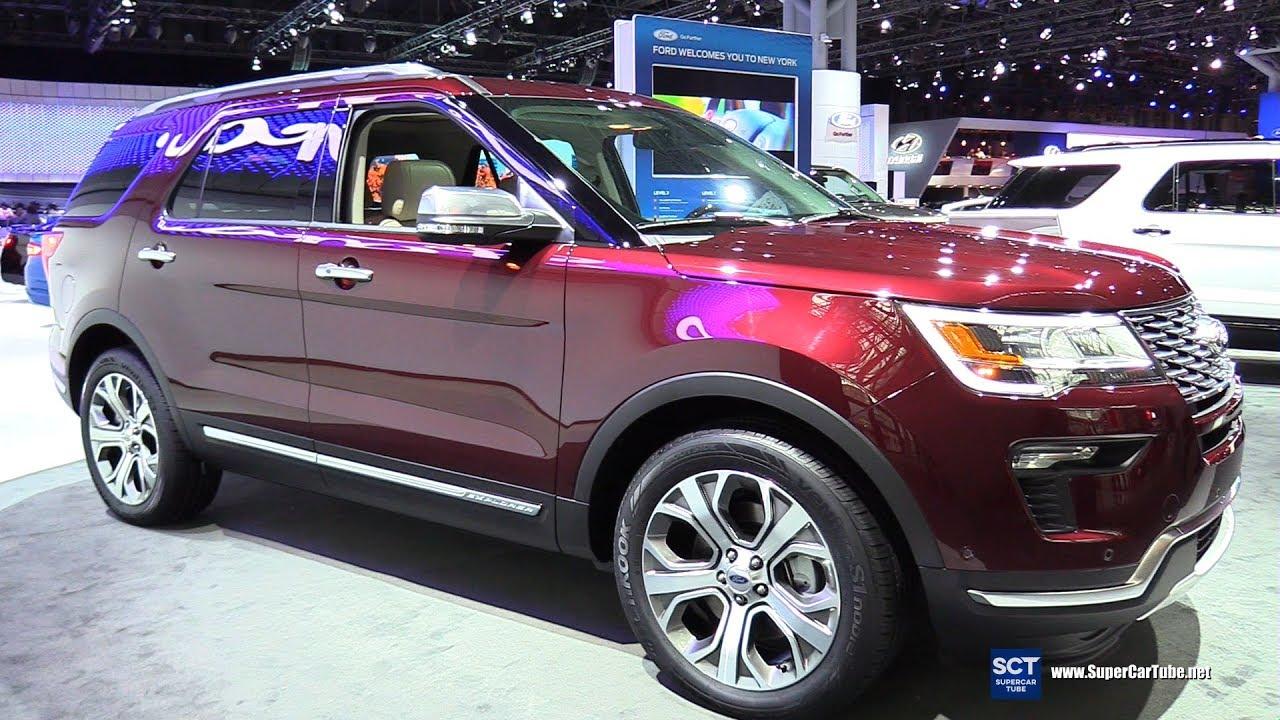 2018 Ford Explorer – Exterior and Interior Walkaround – 2017 New York Auto Show