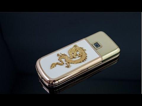 Chiêm ngưỡng Nokia 8800 gold arte đính rồng vàng 24k tại Didongso.com.vn