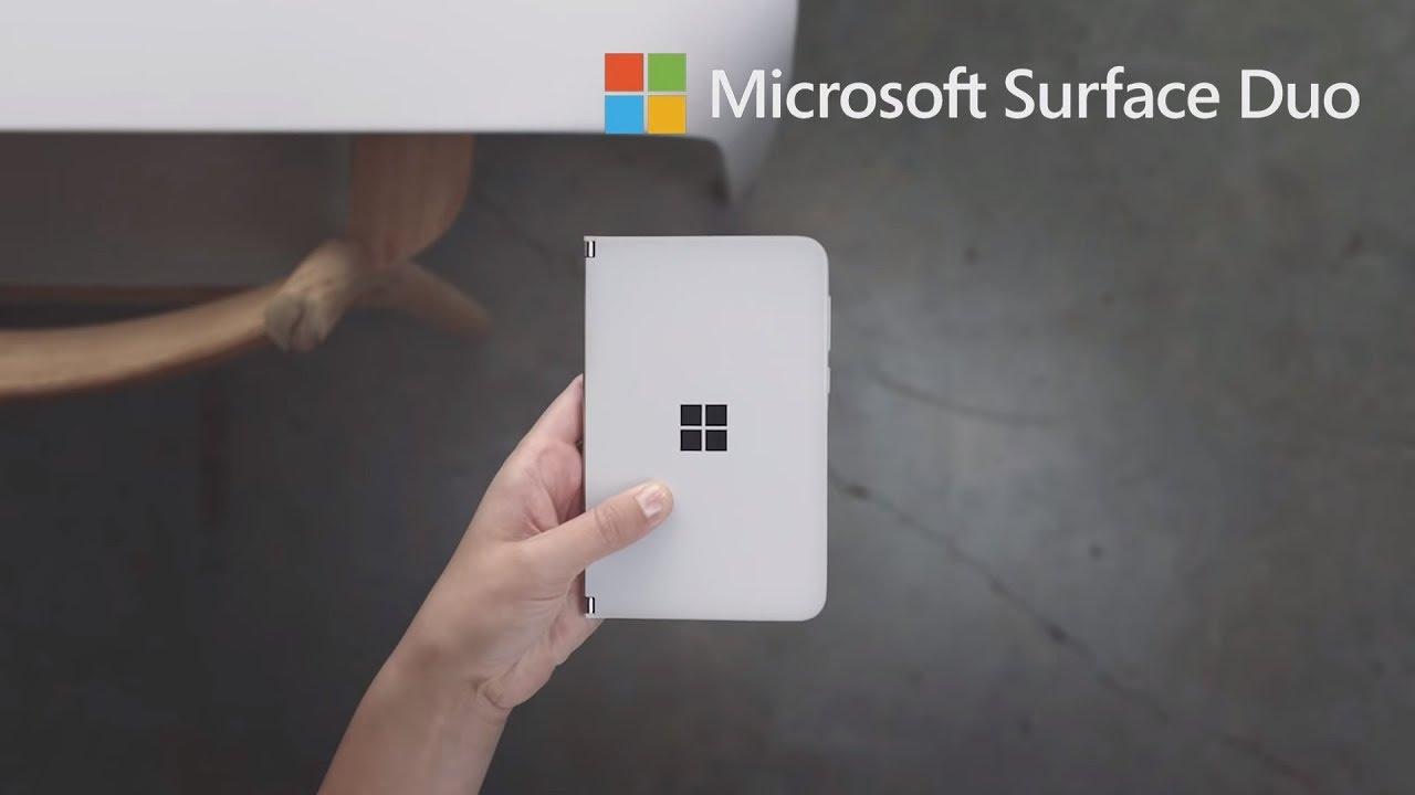 Surface Duo – Smartphone hai màn hình gập, bản lề độc đáo, thiết kế ấn tượng