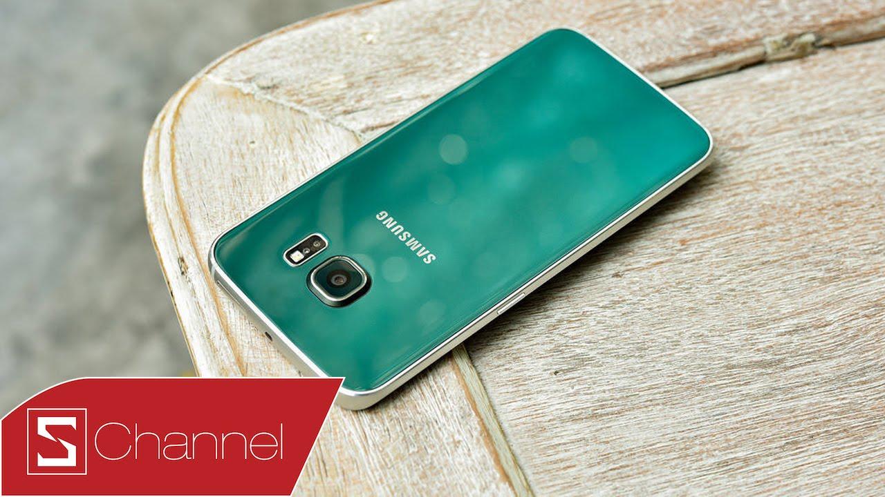Schannel – Mở hộp Galaxy S6 Edge xanh lục bảo : Đẹp không thể tin được !!!