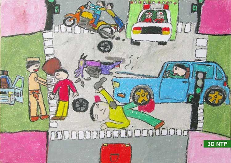 Nằm mơ thấy tai nạn giao thông là điềm gì, đánh con gì?