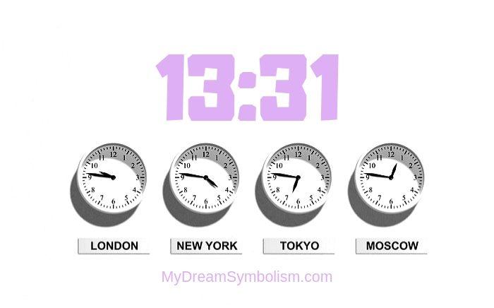 Ý nghĩa giấc mơ thấy 13:31
